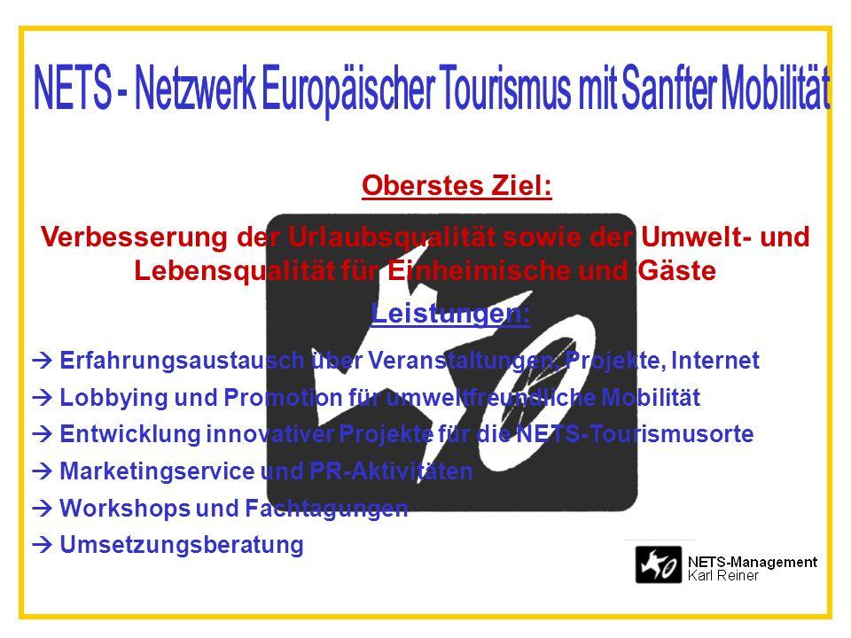 NETS - Netzwerk Europäischer Tourismus mit Sanfter Mobilität
