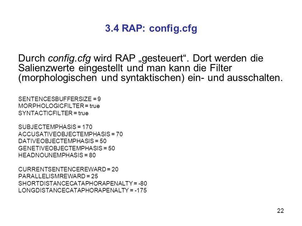 3.4 RAP: config.cfg