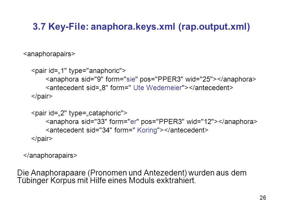 3.7 Key-File: anaphora.keys.xml (rap.output.xml)