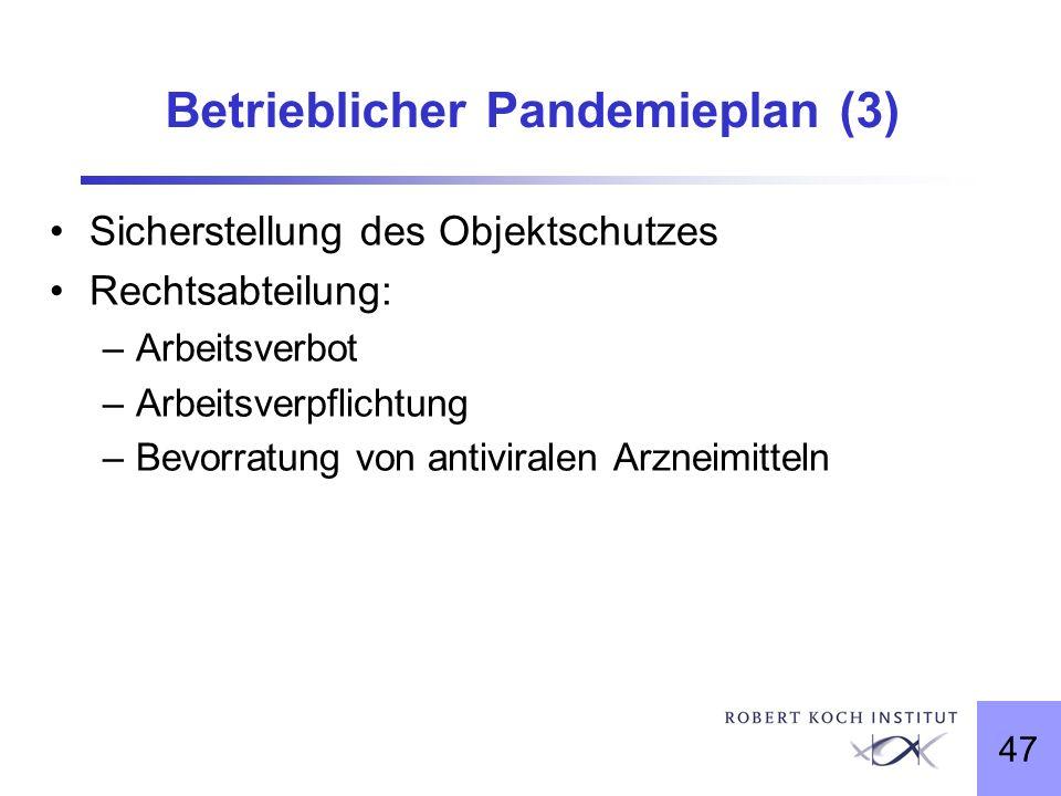 Betrieblicher Pandemieplan (3)
