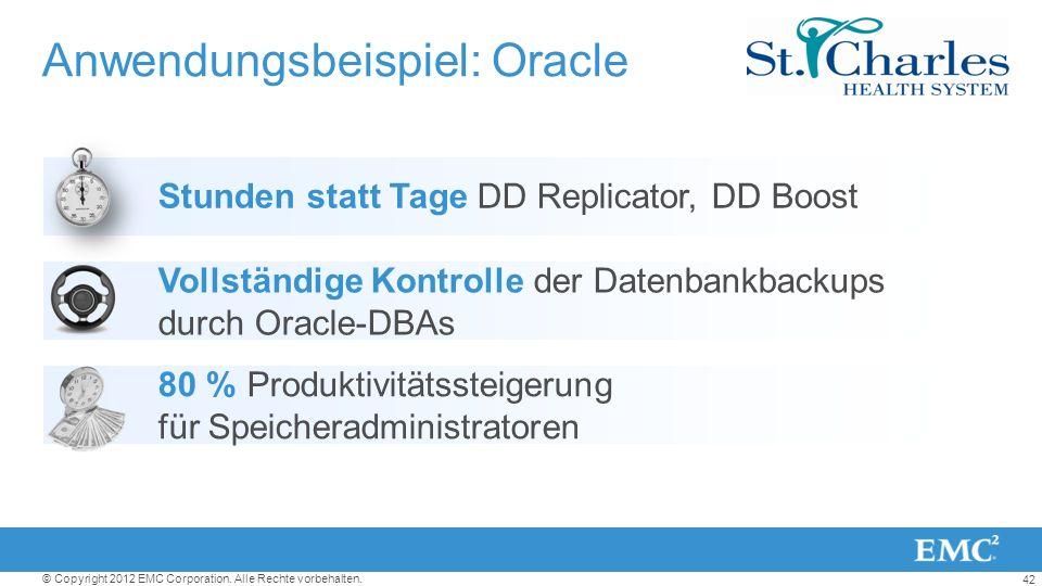Anwendungsbeispiel: Oracle