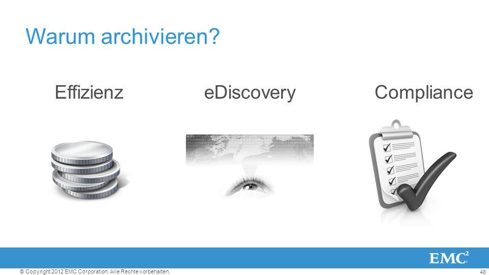 Warum archivieren Effizienz eDiscovery Compliance