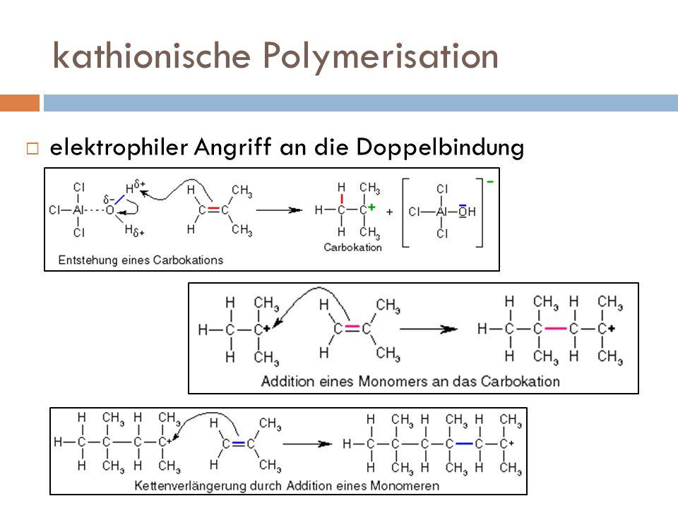kathionische Polymerisation
