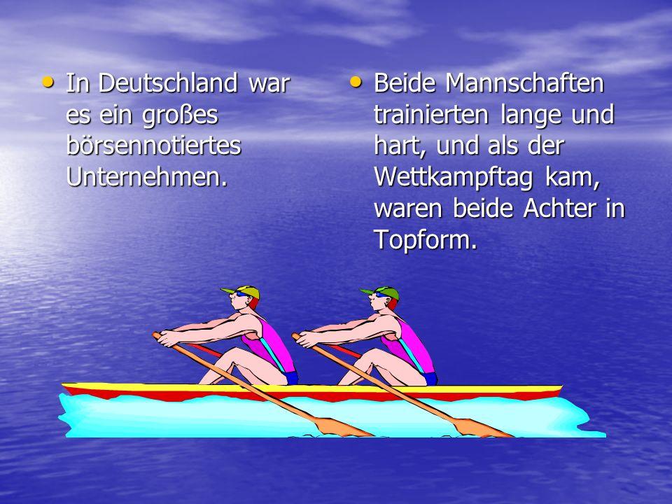 In Deutschland war es ein großes börsennotiertes Unternehmen.