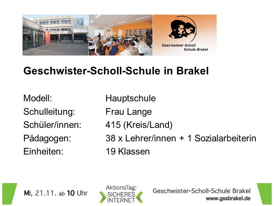 Geschwister-Scholl-Schule in Brakel