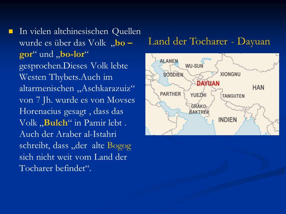 Land der Tocharer - Dayuan
