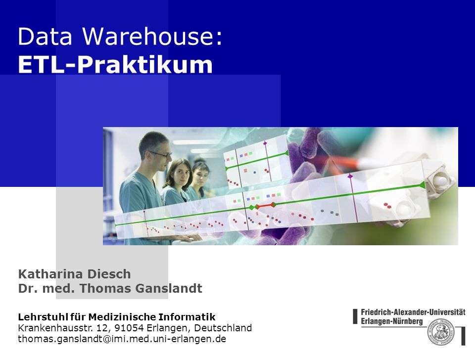 Data Warehouse: ETL-Praktikum