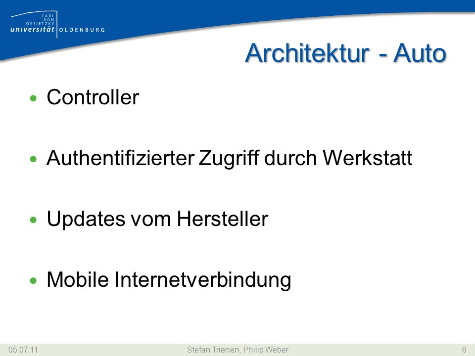 Architektur - Werkstatt