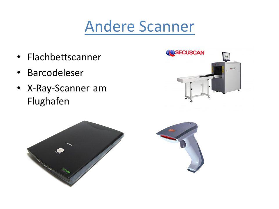 Andere Scanner Flachbettscanner Barcodeleser
