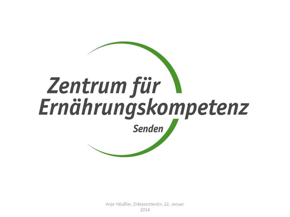 Anja Häußler, Diätassistentin, 22. Januar 2014