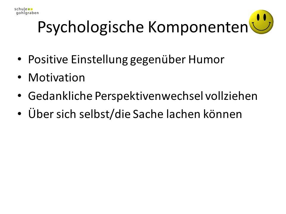 Psychologische Komponenten