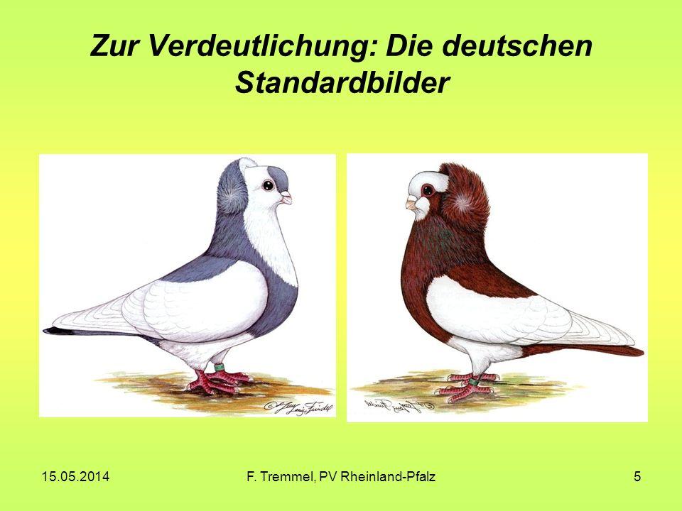 Zur Verdeutlichung: Die deutschen Standardbilder