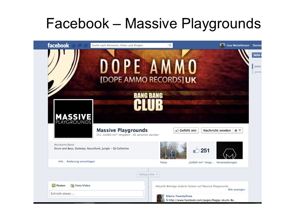 Facebook – Massive Playgrounds