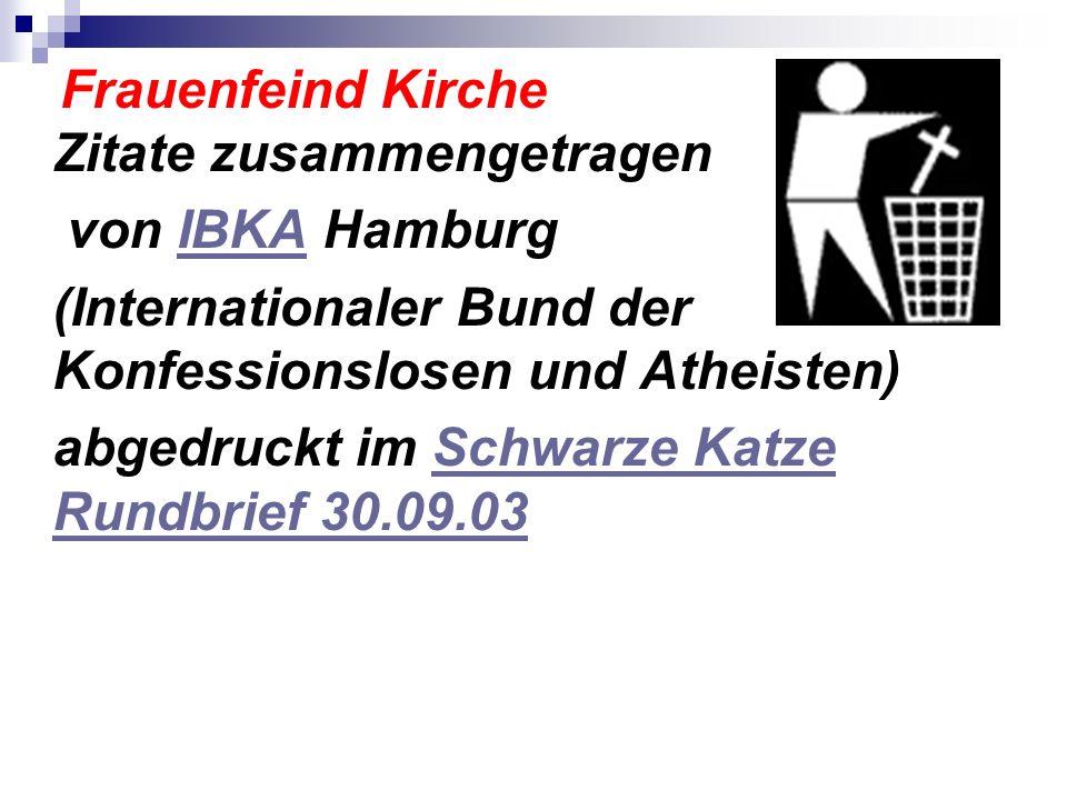 (Internationaler Bund der Konfessionslosen und Atheisten)