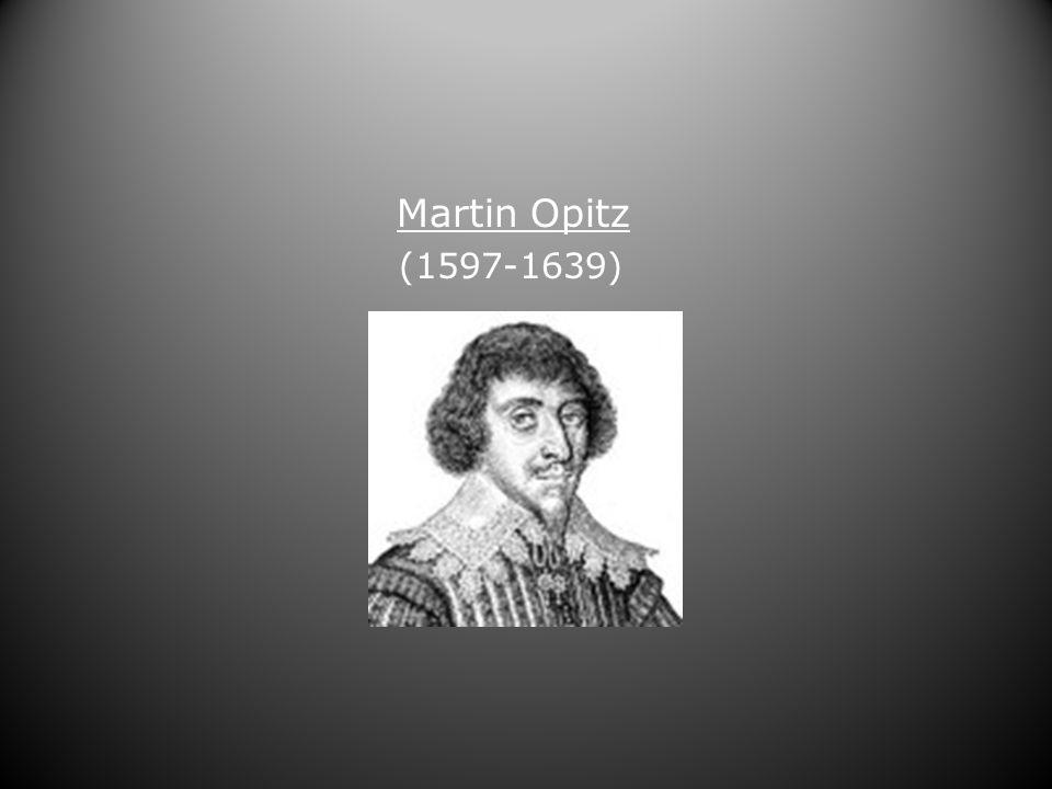 Martin Opitz (1597-1639)
