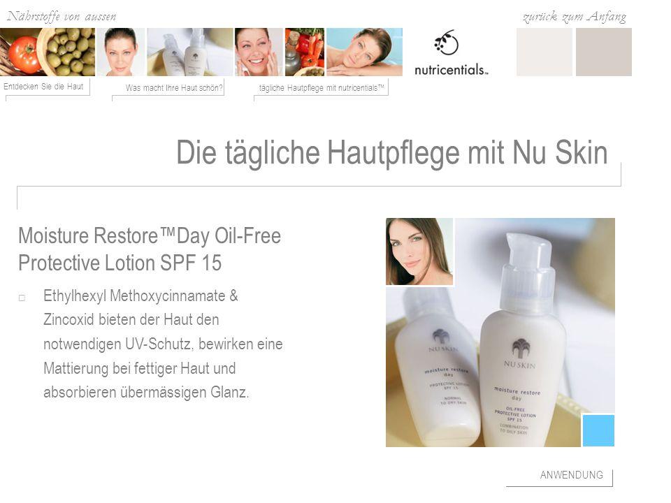 Die tägliche Hautpflege mit Nu Skin