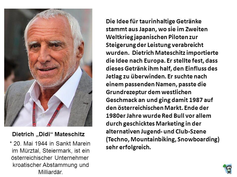 """Dietrich """"Didi Mateschitz"""