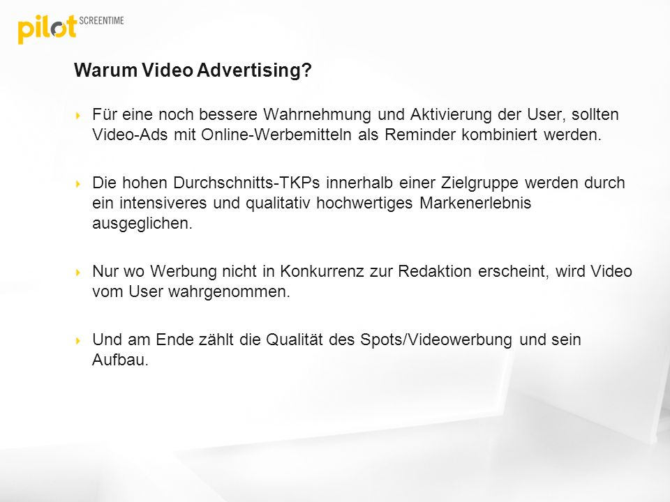 Warum Video Advertising