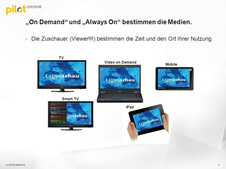 """On Demand und ""Always On bestimmen die Medien."