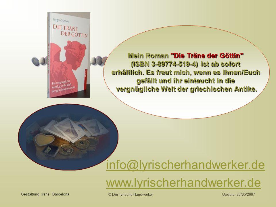 info@lyrischerhandwerker.de www.lyrischerhandwerker.de
