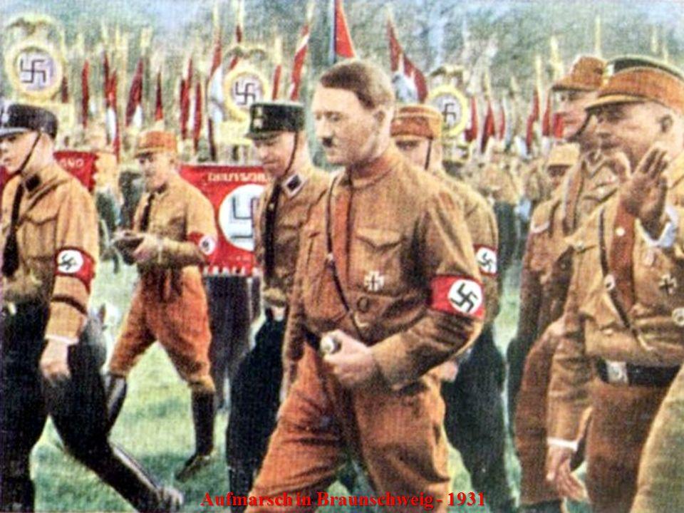 Aufmarsch in Braunschweig - 1931