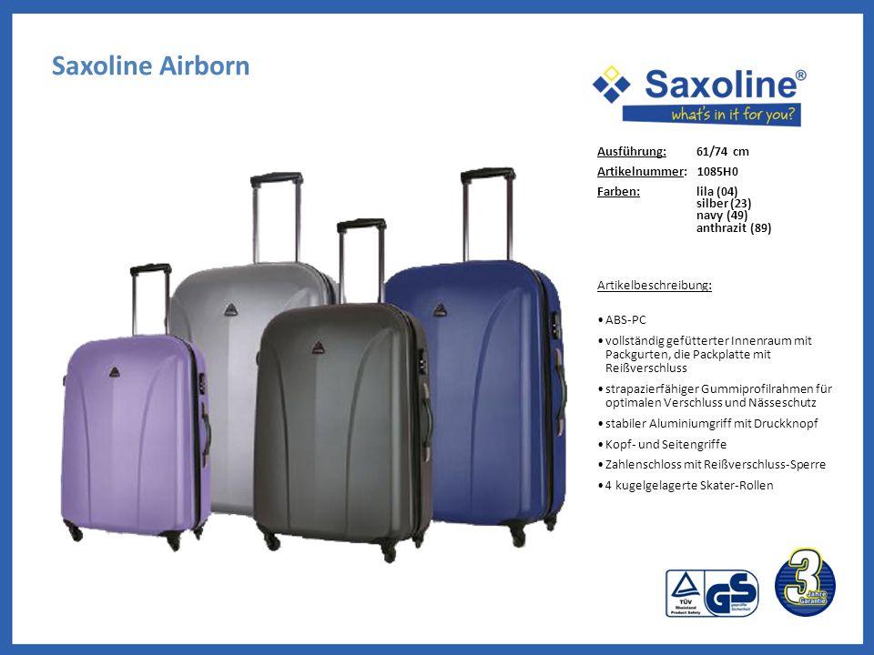 Saxoline Airborn Ausführung: 61/74 cm Artikelnummer: 1085H0
