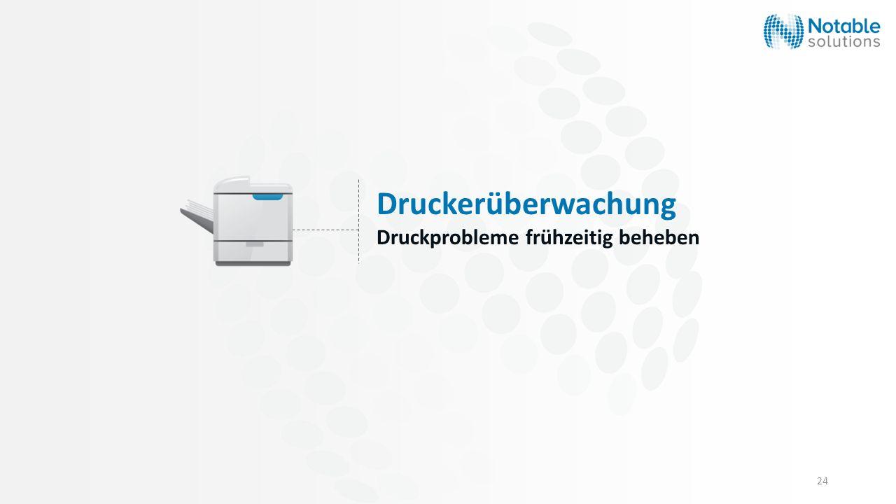 Druckerüberwachung Druckprobleme frühzeitig beheben