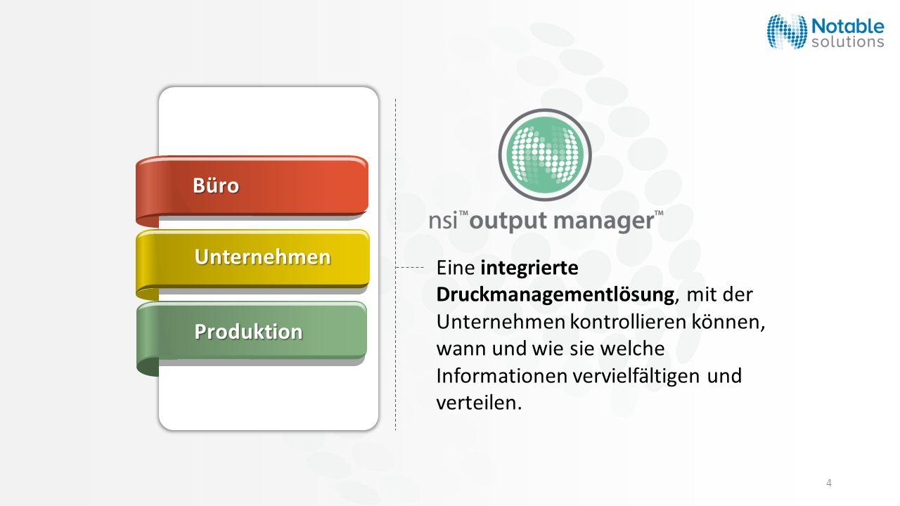 Büro Unternehmen Produktion