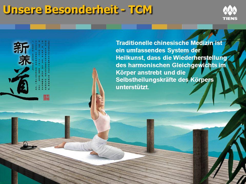 Unsere Besonderheit - TCM