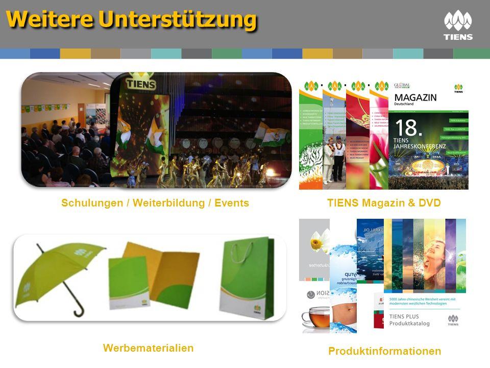 Schulungen / Weiterbildung / Events Produktinformationen