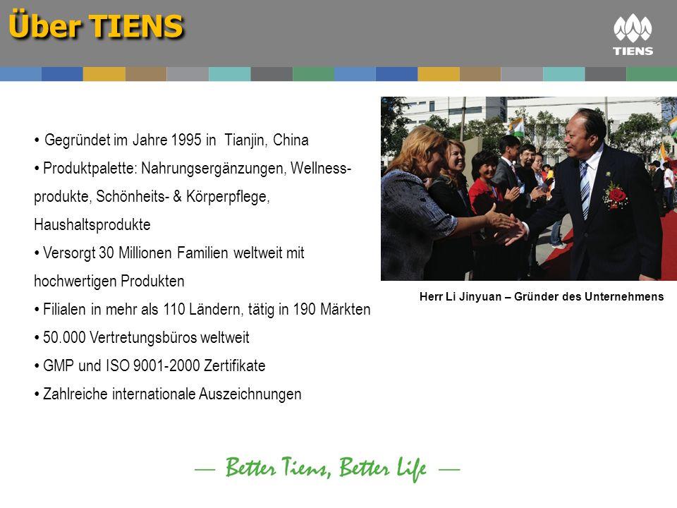Herr Li Jinyuan – Gründer des Unternehmens