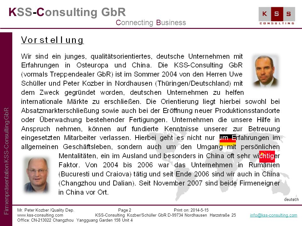 KSS-Consulting GbR Connecting Business