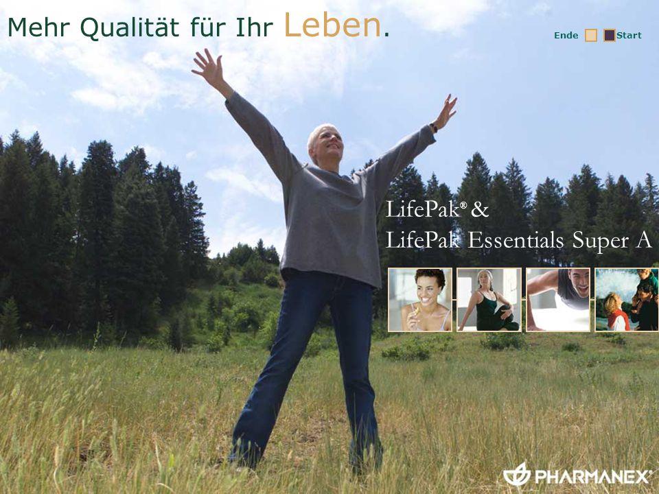 Herzlich willkommen zum LifePak & LifePak Essentials Super A Training!