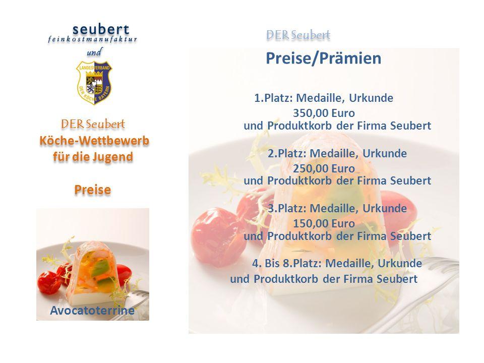 DER Seubert Köche-Wettbewerb für die Jugend Preise