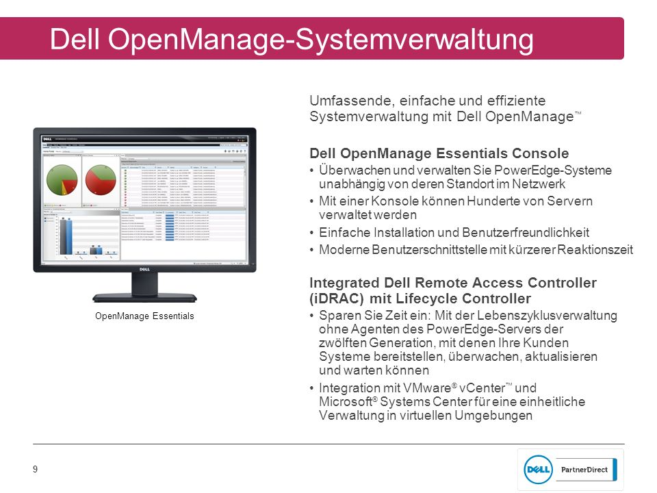 Dell OpenManage-Systemverwaltung