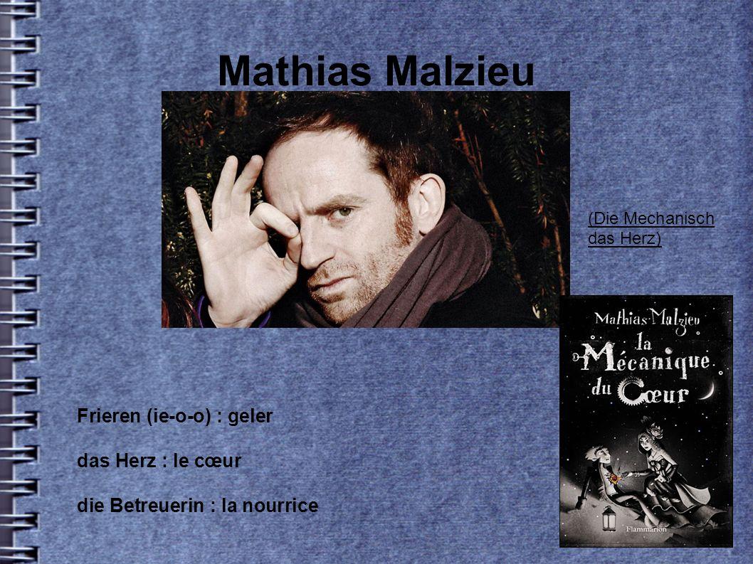 Mathias Malzieu Frieren (ie-o-o) : geler das Herz : le cœur