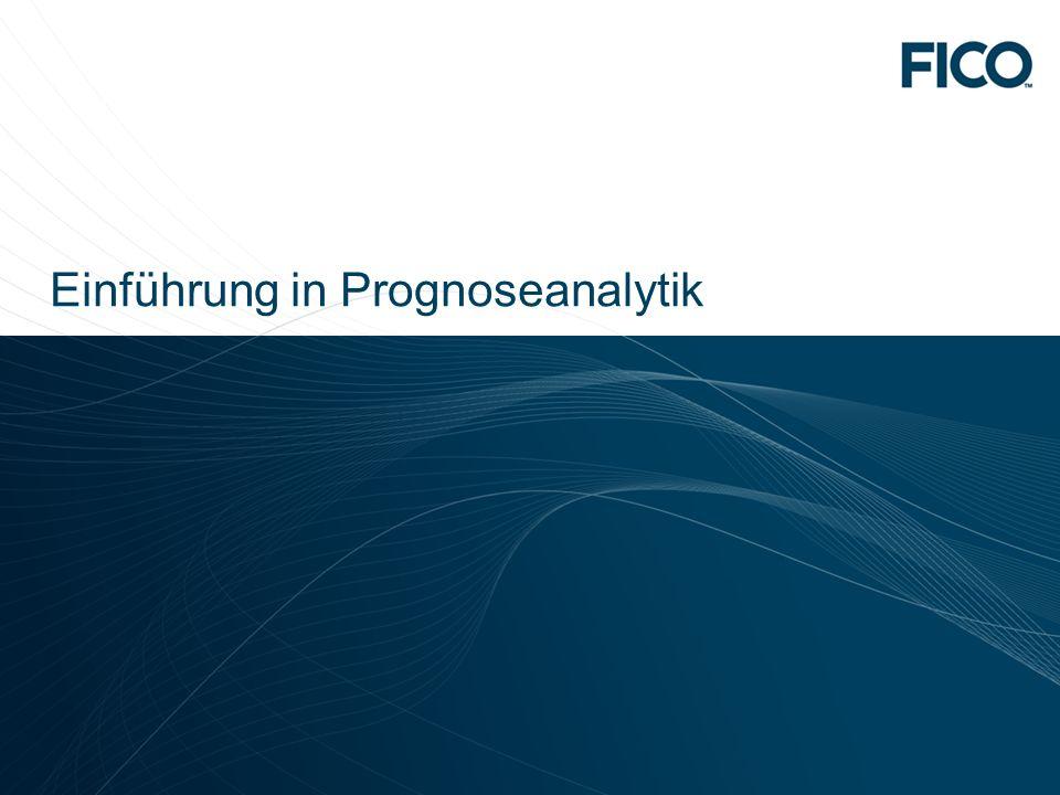 Einführung in Prognoseanalytik