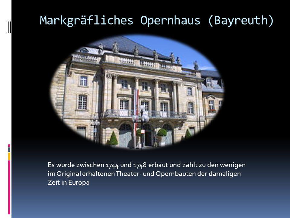 Markgräfliches Opernhaus (Bayreuth)