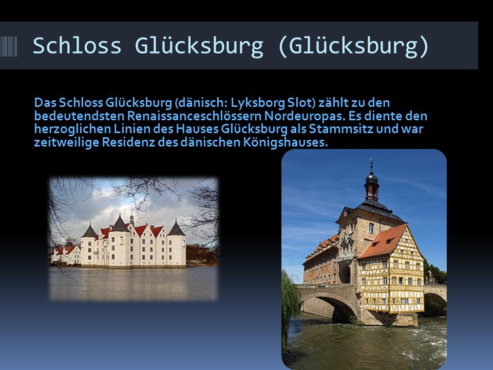 Schloss Glücksburg (Glücksburg)