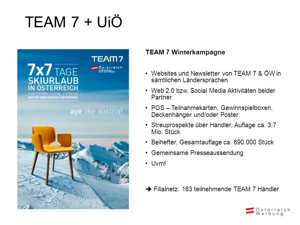 TEAM 7 + UiÖ TEAM 7 Winterkampagne