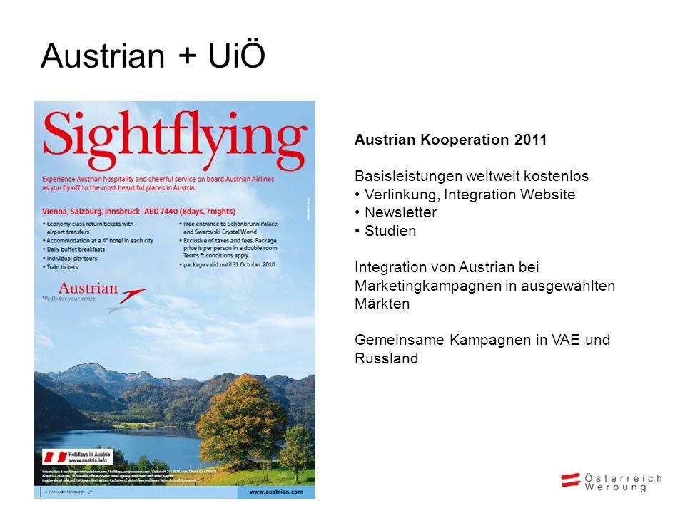 Austrian + UiÖ Austrian Kooperation 2011