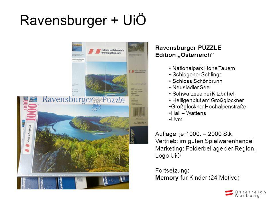 "Ravensburger + UiÖ Ravensburger PUZZLE Edition ""Österreich"
