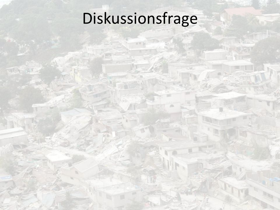 Diskussionsfrage