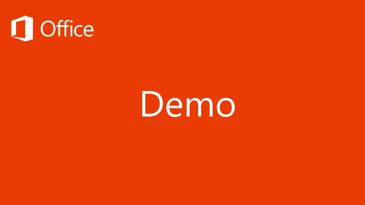 Demo 20 Minuten für Office Demo