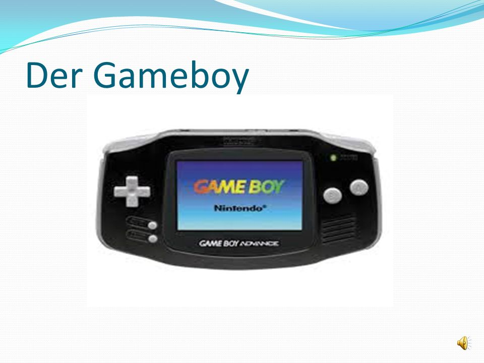 Der Gameboy