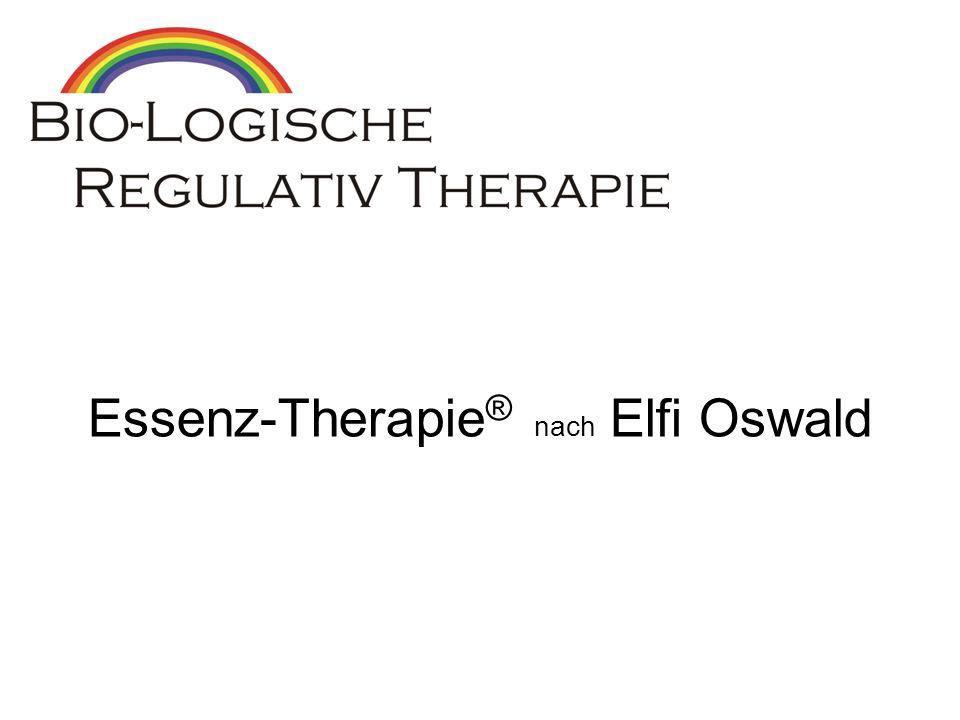 Essenz-Therapie® nach Elfi Oswald