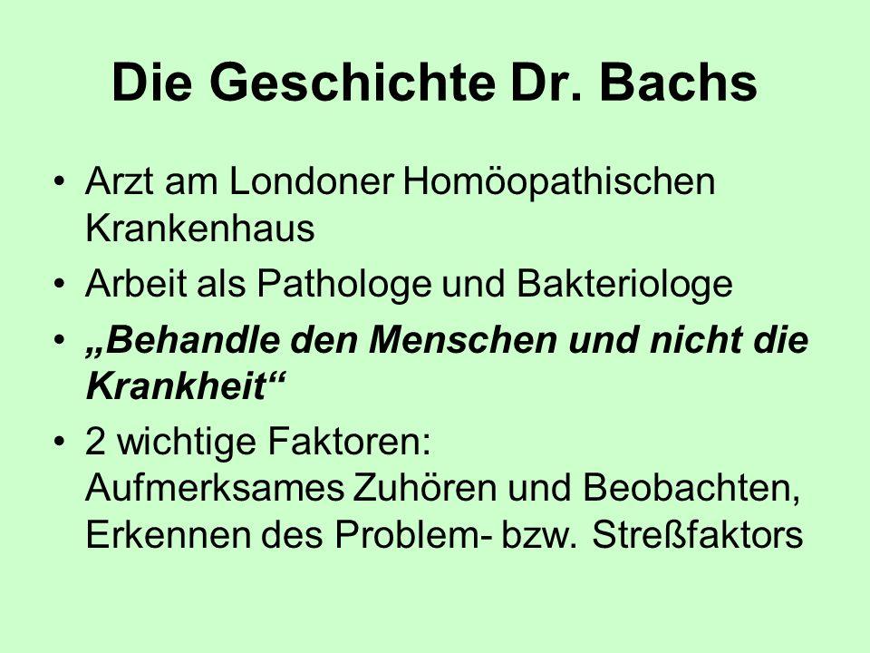 Die Geschichte Dr. Bachs