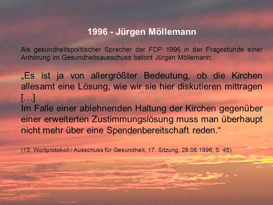 1996 - Jürgen Möllemann