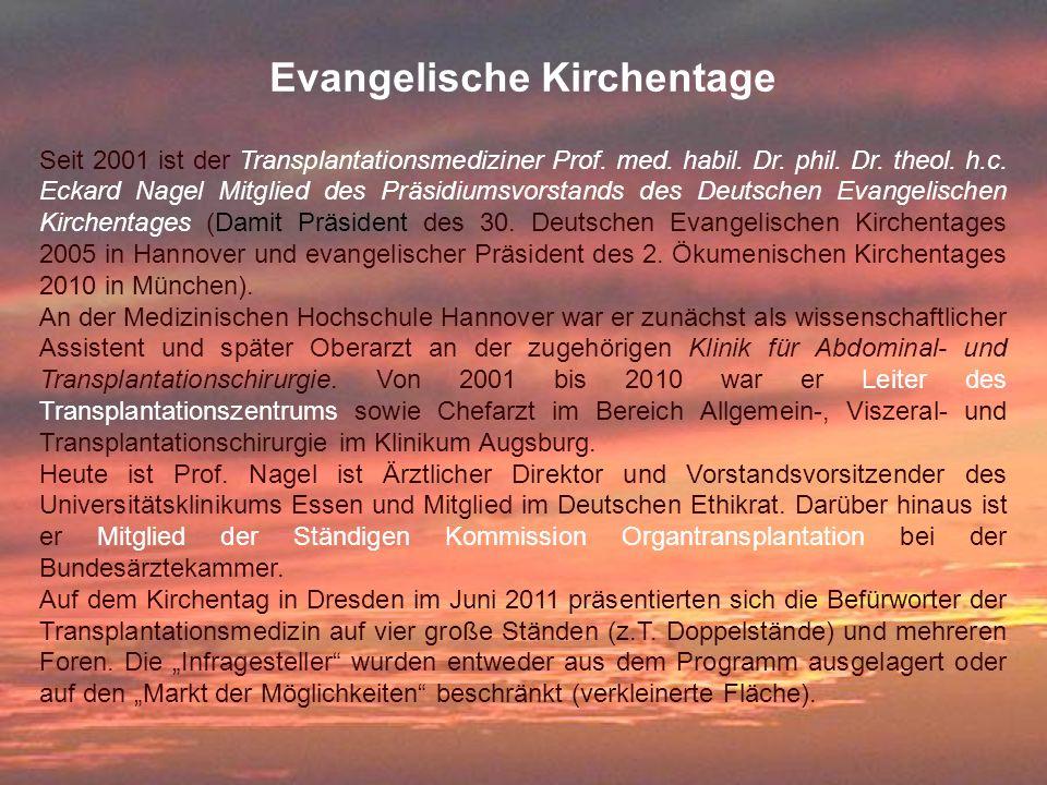Evangelische Kirchentage
