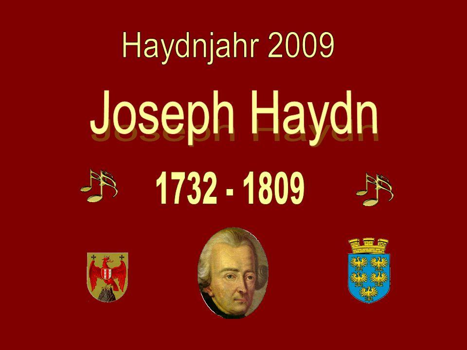 Joseph Haydn Haydnjahr 2009 1732 - 1809